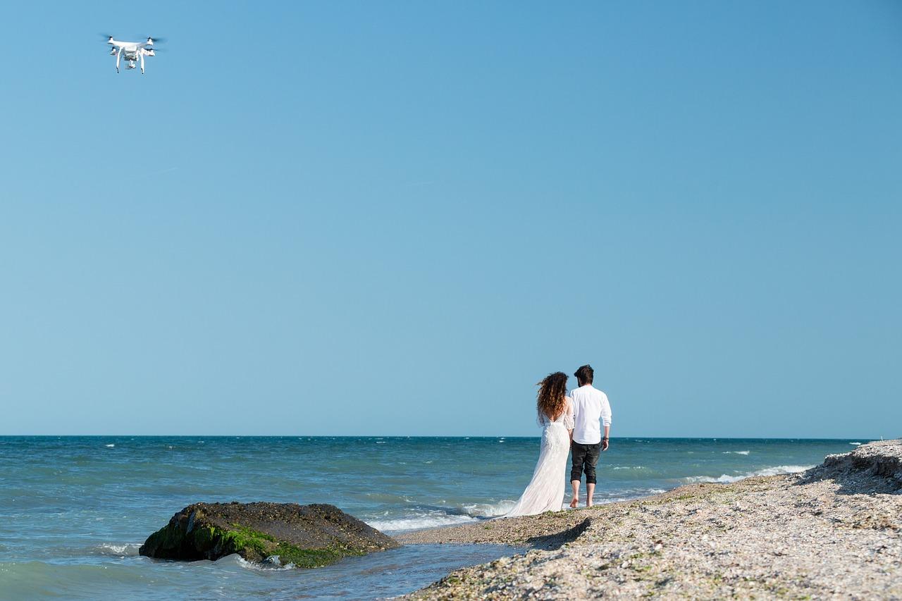 Hochzeit Fotograf Drohne