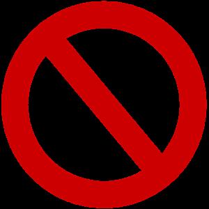 Drohnen verboten